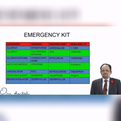Picture of Emergency medical kit for every clinic