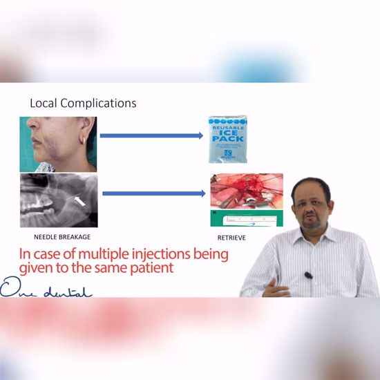Picture of Managing local complications after administration of LA