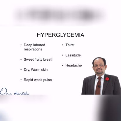 Picture of My patient is having a hypoglycaemic attack!