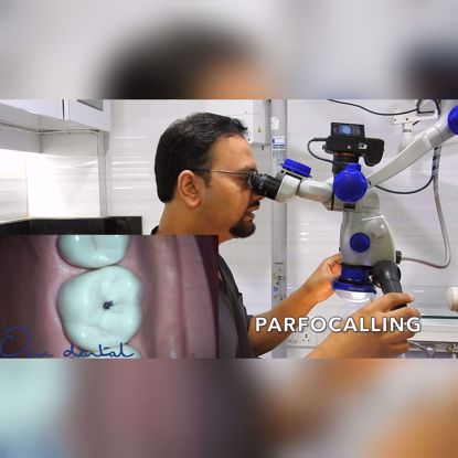 Picture of Video documentation using dental microscopes