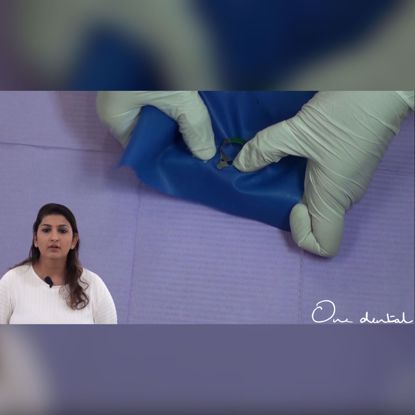 Picture of Isolating multiple teeth with rubber dam: A step by step approach