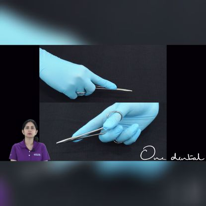 Picture of Correct grips for suturing