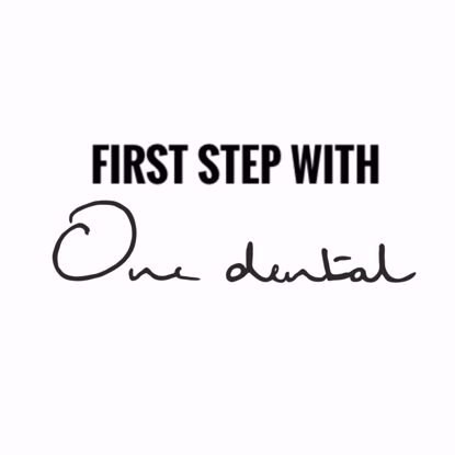 Picture of First step with One Dental