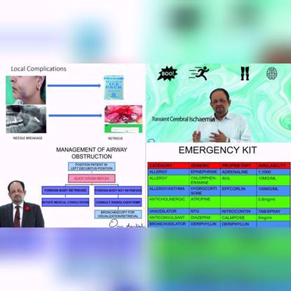Picture of Medical emergencies in dentistry and their management